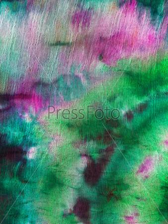 Фотография на тему Абстрактный узор, холодная роспись, батик