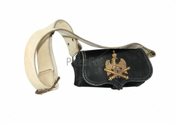Фотография на тему Старая французская артиллерийская сумка