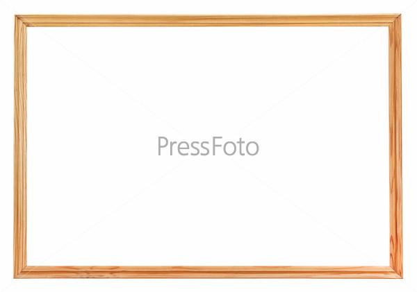 Узкие простая деревянная рамка