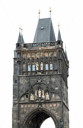 Фотография на тему Пороховая башня, Прага