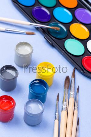 Фотография на тему Краски и кисти