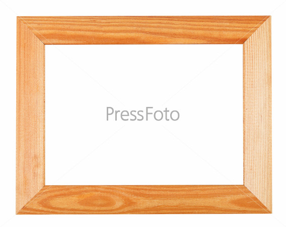 Широкая простая деревянная рама