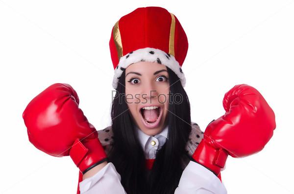 Королева с боксерскими перчатками