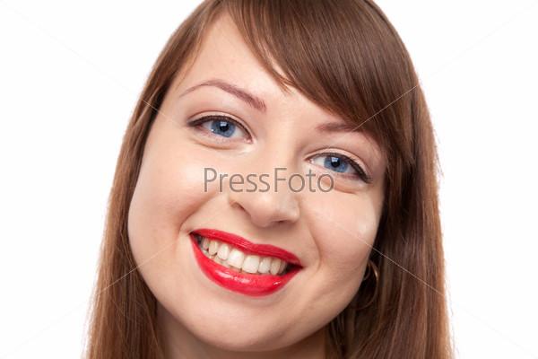 Фотография на тему Портрет улыбающейся девушки