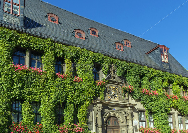 Городская ратуша Кведлинбург, Германия