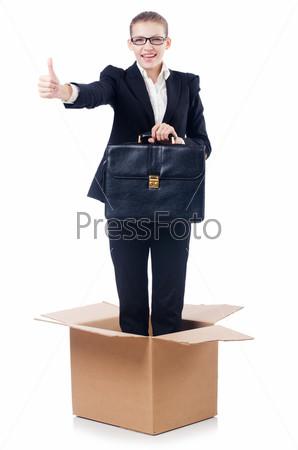 Фотография на тему Женщина в концепции нестандартного мышления