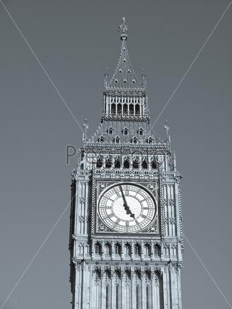 Фотография на тему Биг Бен, Вестминстерский дворец. Лондонская готическая архитектура