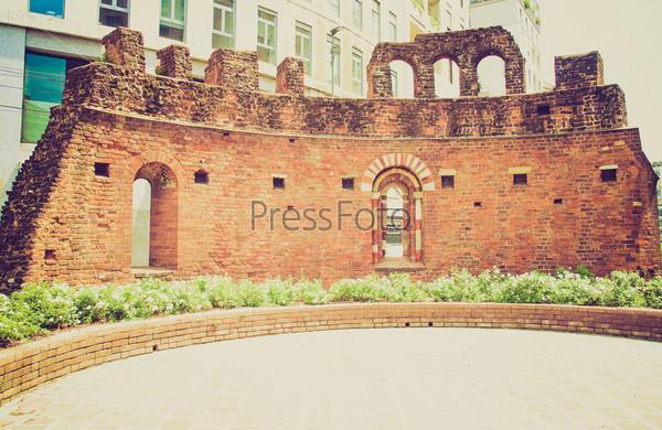 Фотография на тему Руины церкви Сан-Джованни, Конка, Милан, Италия