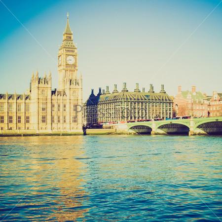 Биг Бен и Вестминстерский дворец, Лондон, Великобритания