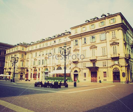Площадь Кариньяно в Турине, Италия