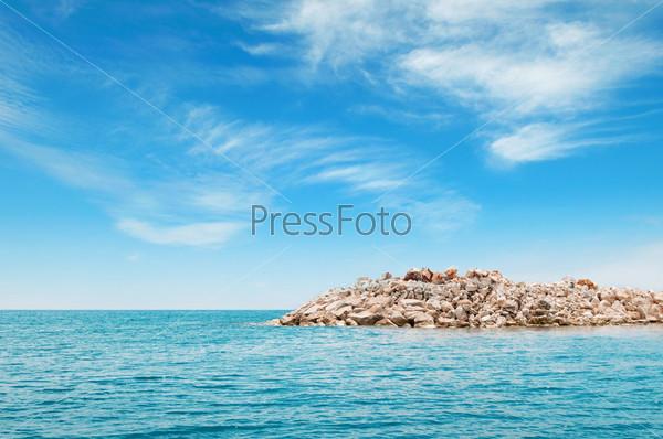 Залив в Средиземном море