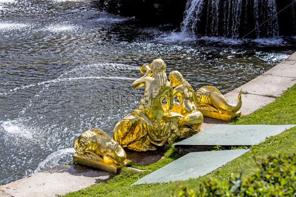 Петродворец, фонтан