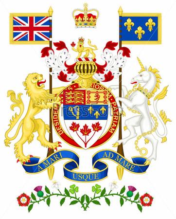 повседневного редкие значки с изображением канадского герба свою очередь