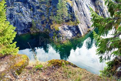 Mountain park Ruskeala