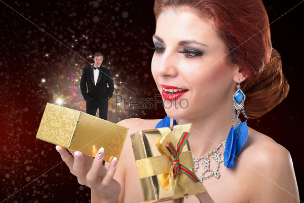 Подарок для девушки в День Святого Валентина