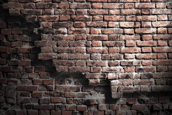 фото старая кирпичная стена