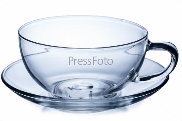 Empty tea cup