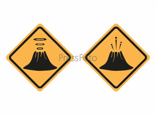знак вулкана