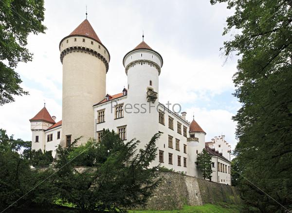 Old Konopiste castle in the Czech Republic.