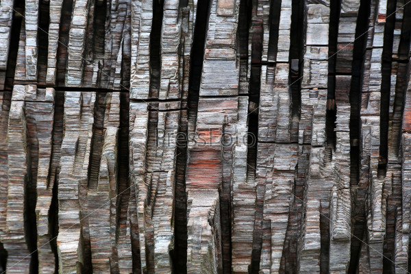 vertical strips of chopped wood as a background