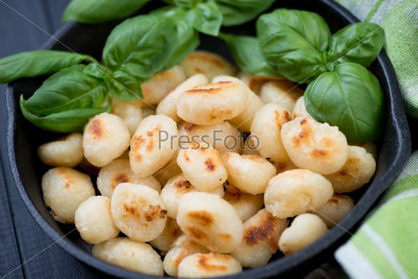 Жареные итальянские ньокки