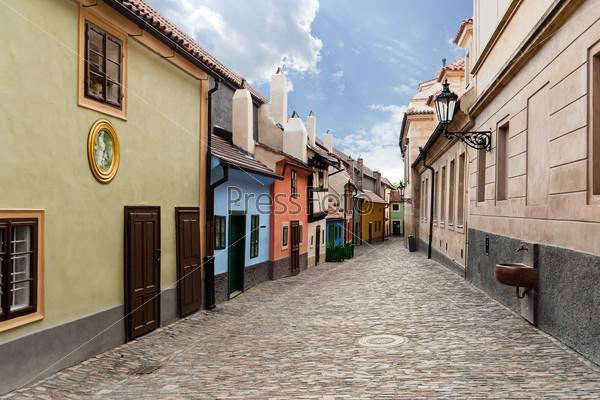 Golden Street. Prague.