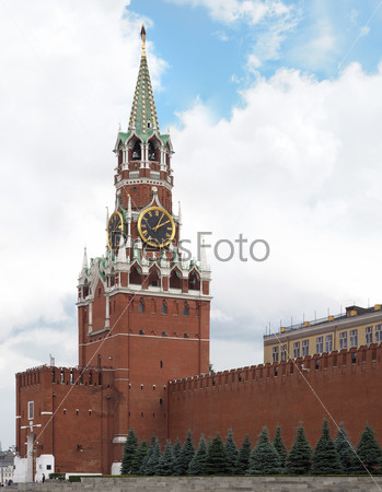 The Moscow Kremlin. Russia
