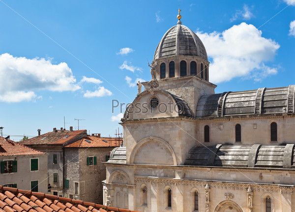 Cathedral of St. James in Sibenik, Croatia