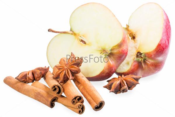 Яблоки, анис и корица