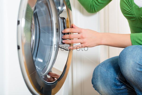 Housekeeper with washing machine