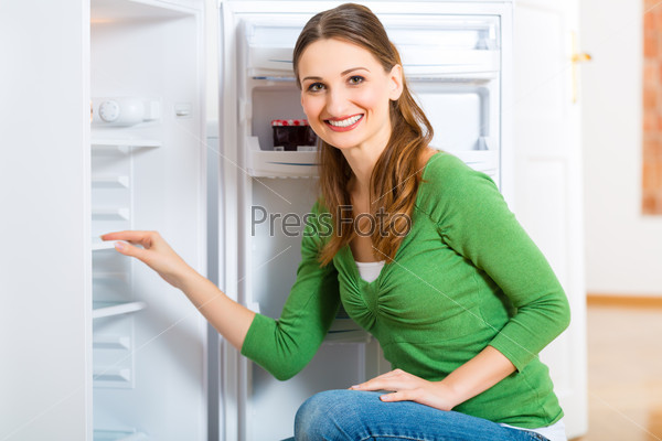 Housekeeper with Refrigerator