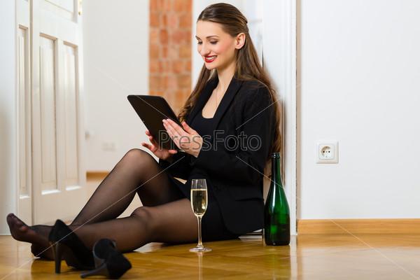 знакомства с деловой женщиной