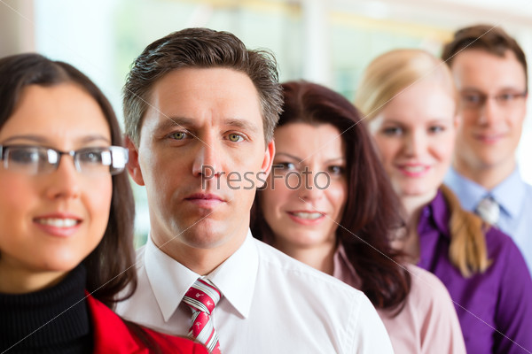 Business people or team in office
