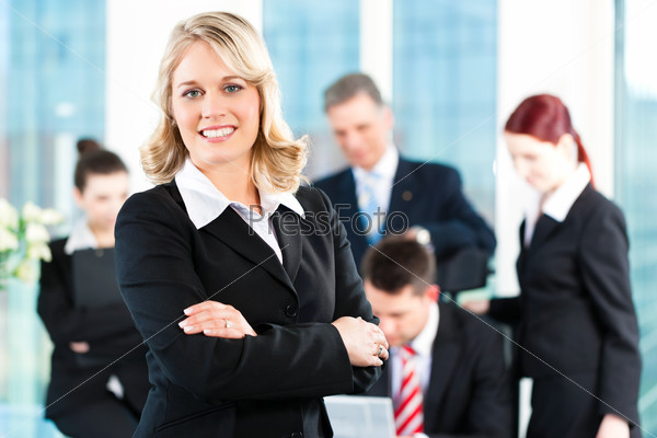 Business - meeting in an office