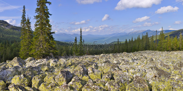 Mountains landscape Panorama