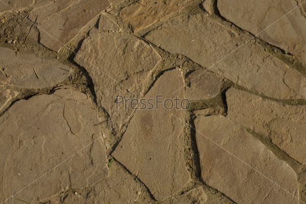 Текстура каменной дорожки