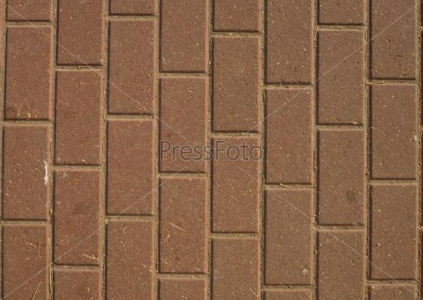 Вертикальная тротуарная плитка