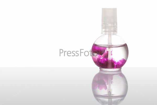 Nail and cuticle oil isolated on white