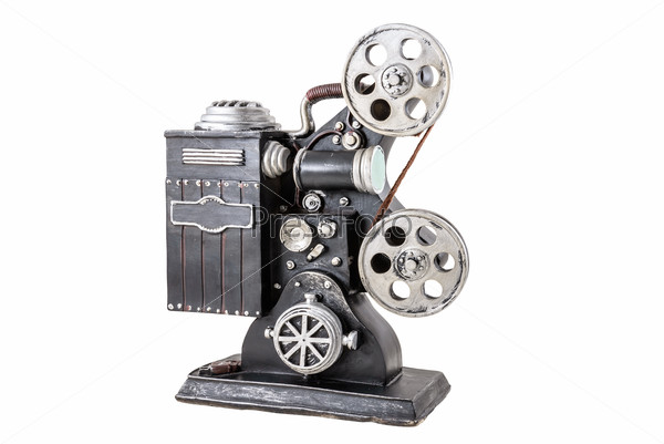 Model of film projector