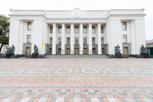 Parliament of Ukraine (Verkhovna Rada) in Kiev, Ukraine
