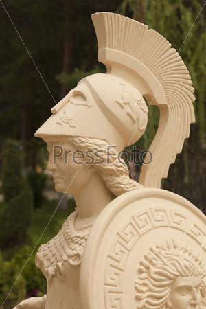 Афина. Фрагмент скульптуры