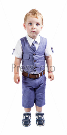 little boy suit