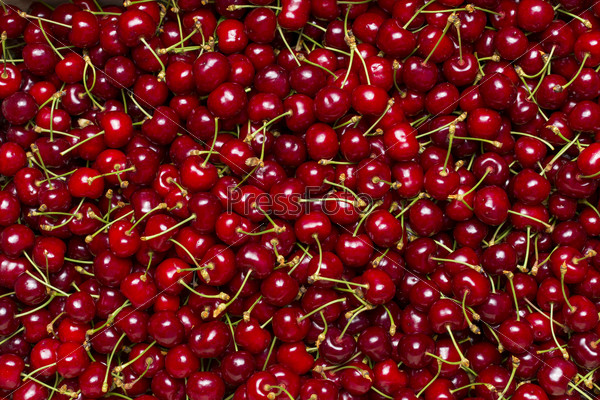 cherry as texture