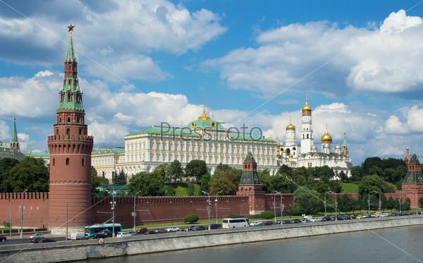 Москва. Вид Московского Кремля