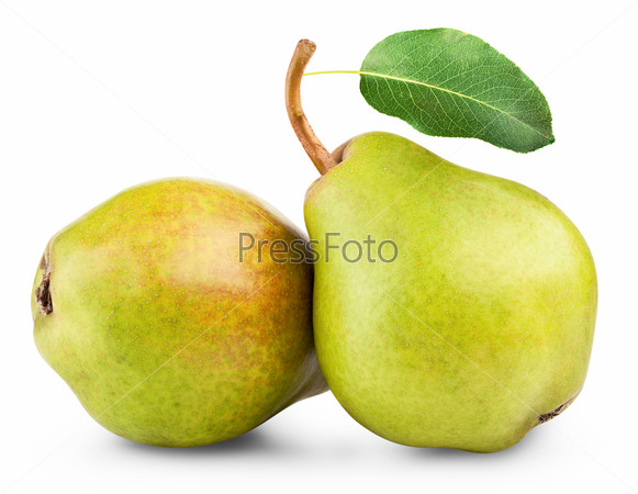 pears isolated