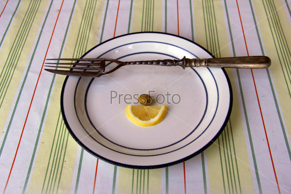 fork with knife