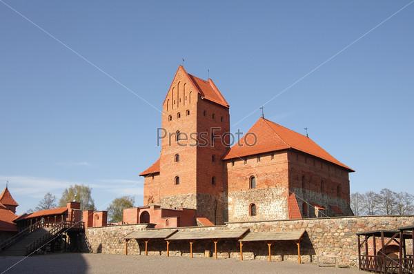 Medieval castle in Trakai