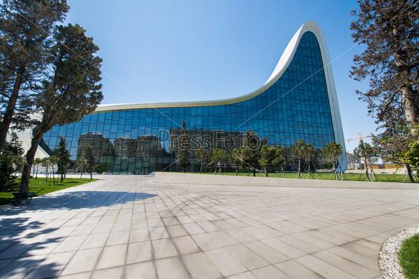 Баку, Азербайджан. Центр Гейдара Алиева