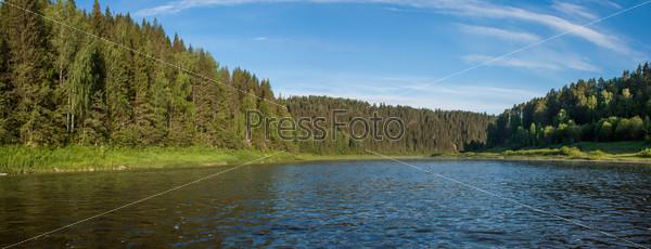 Река Чусовая. Панорама