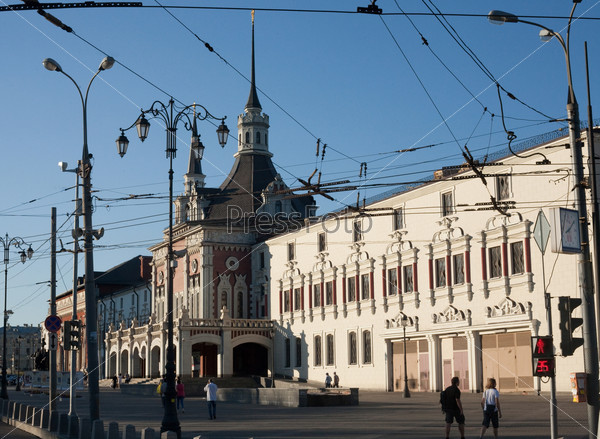 Казанский вокзал, вид сбоку